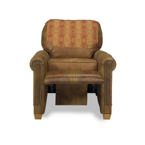 Addison Reclaimed Barn Wood Recliner - Faith 11071