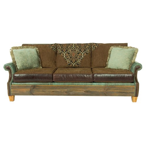 Norfolk Reclaimed Barn Wood Sofa - Edward 6092420