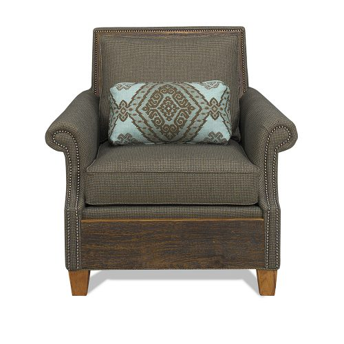 Norfolk Reclaimed Barn Wood Chair - Mist 6592420-C