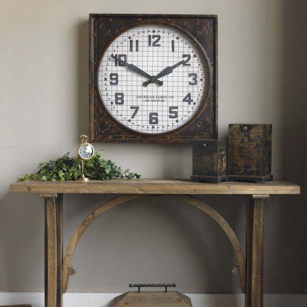 Warehouse Clock 06083