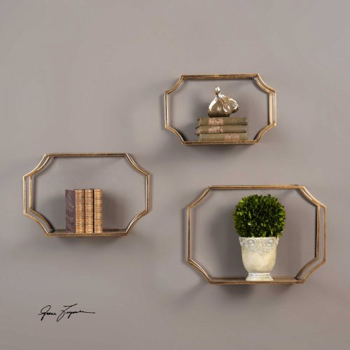 Lindee Wall Shelves Wall Decor 04048