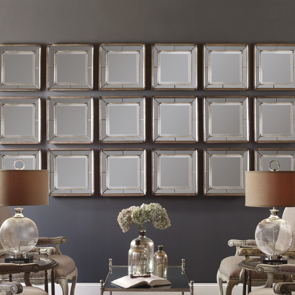 Davion Squares Wall Decor 13555