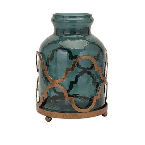 Marla Oversized Quadre Foil Vase 20268
