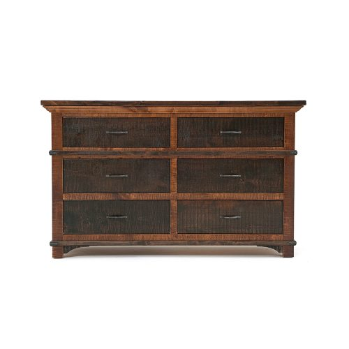 Glen Falls Reclaimed Barn Wood 6 Drawer Dresser 21425