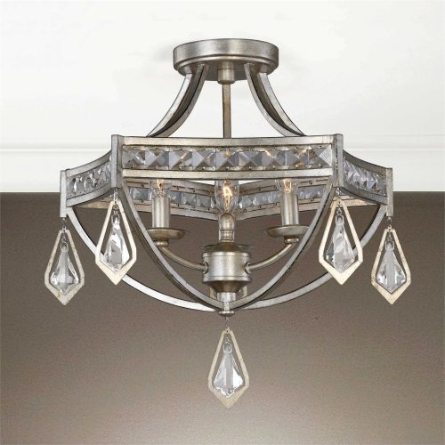 Tamworth 3LT Semi Flush Mount UM-22275