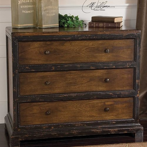 Rishi Three Drawer Chest 25504