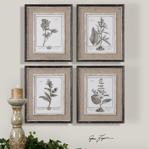 Casuel Grey Study Wall Decor 32510