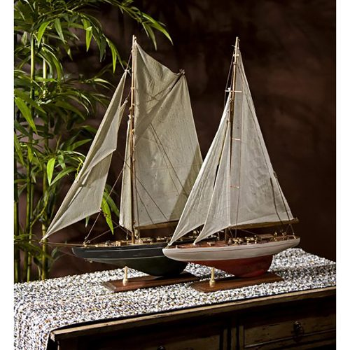 Antiqued Sailing Vessels 50880-2