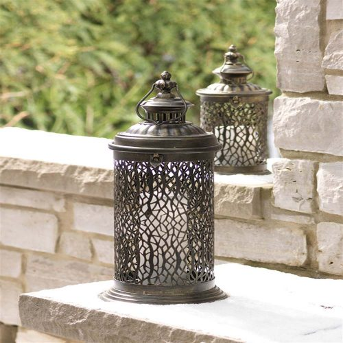 Lantern w/Filigree Detail 56805