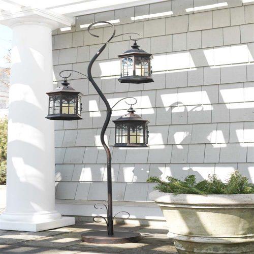 Lantern Tree w/3 Lanterns 57507