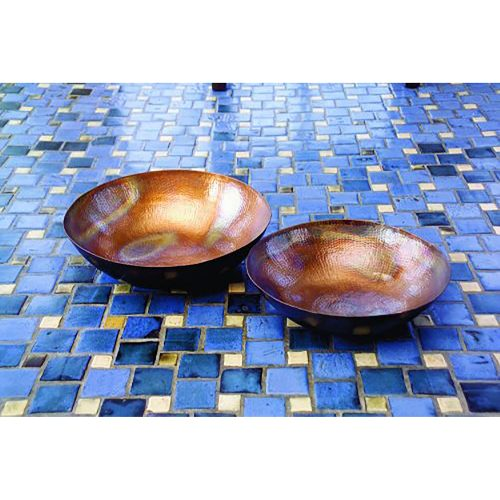 Copper Plated Bowls 60009-2