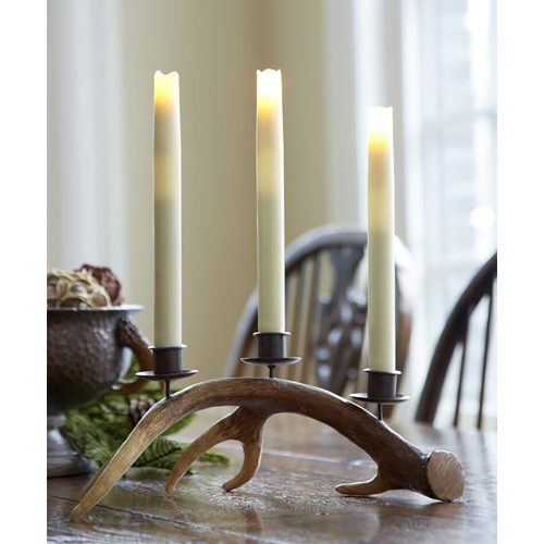 Antler Taper Candle Holder 60617