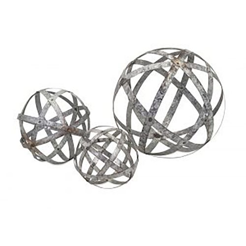 Demi Galvanized Spheres 65346-3