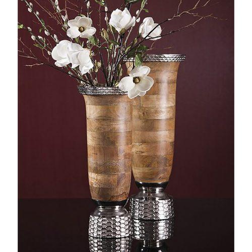 Mango Wood Large Vase 71784