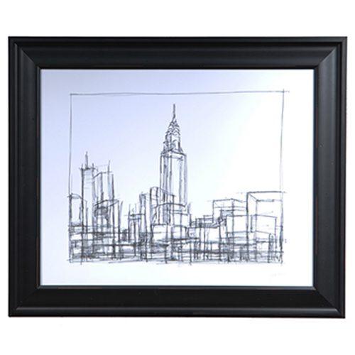Wire Frame Cityscape 2 CVA3414