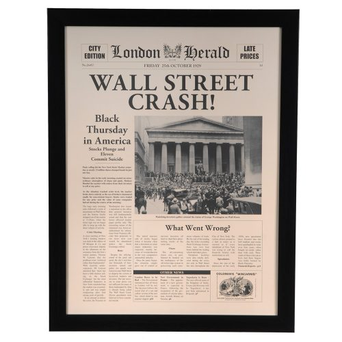 Wall Street Crash CVA3453