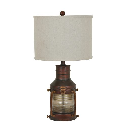 Copper Lantern Table Lamp CVABS964