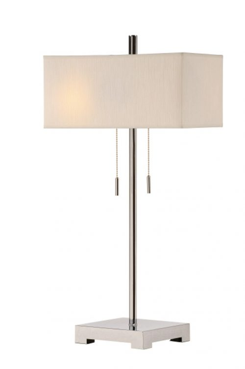 Orlo Twin Light Table Lamp CVACR149