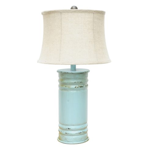 Antique Can Table Lamp CVAER584