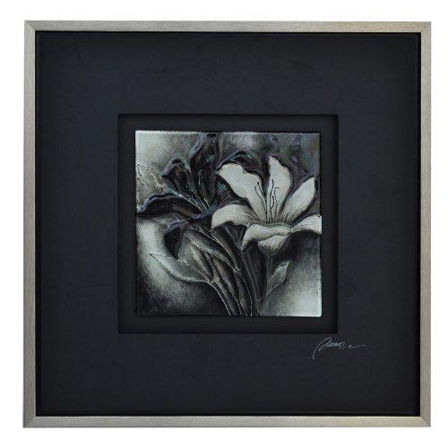 B&W Floral 1 CVTOP1681