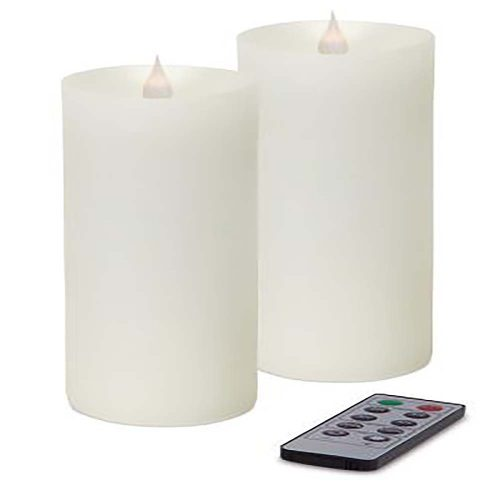 Simplux LED Pillar Candle w/Moving Flame 57478