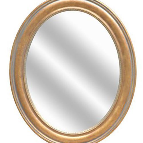 Amber Oval Wall Mirror CVTMR1063B
