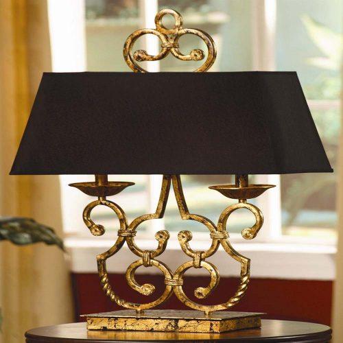 Charleston Twin Light Lamp CVACR164