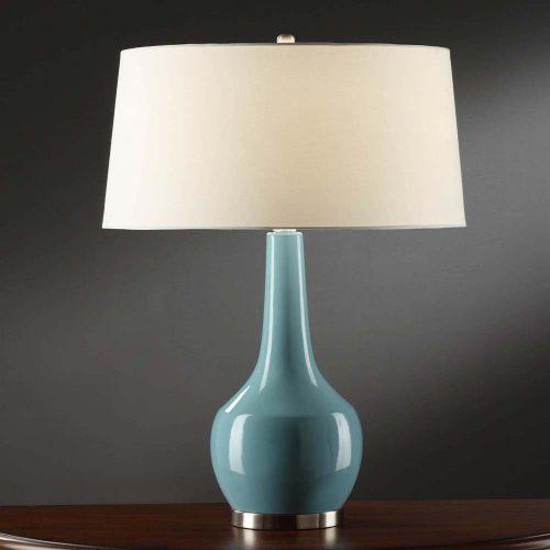Nina Blue Table Lamp CVAP1344C