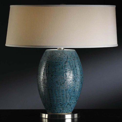 Melrose Blue Table Lamp CVAP1348