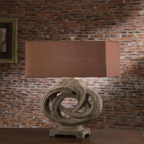 Coiled Branch Table Lamp CVAUP687