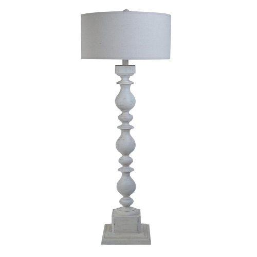 Wood Post Floor Lamp CVAUP960