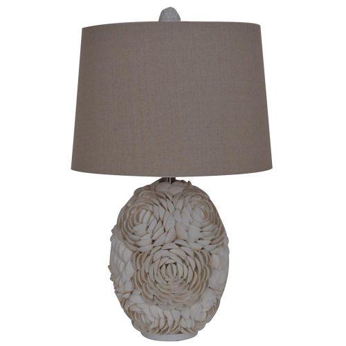 Calypso Shell Table Lamp CVAUP991