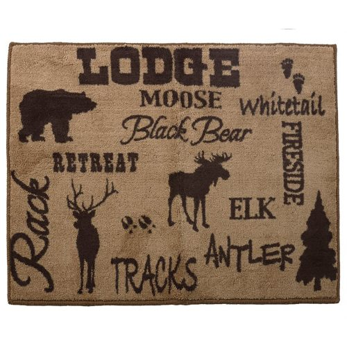 Lodge Rug BL1840-TT-OC