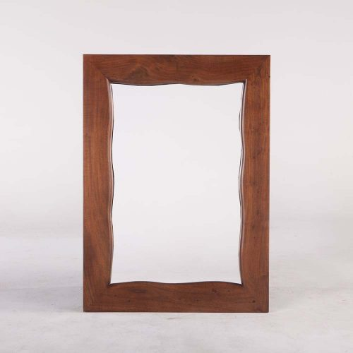 New Aspen Walnut Mirror 43""