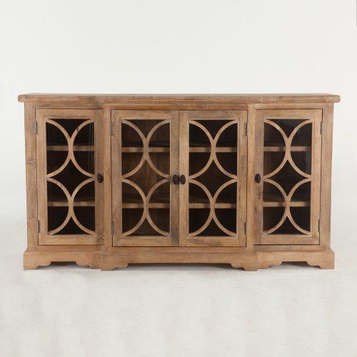New San Rafael 75 Glass Cabinet FSR-GC75AO