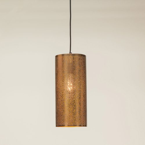 New 6 Vulcan Brass Ceiling Lamp FVC-CL3BRG