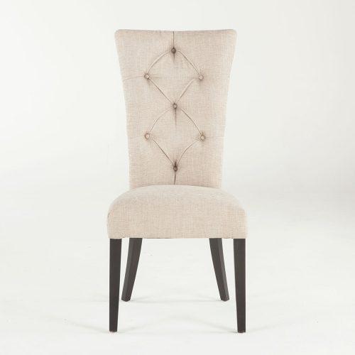 New Tufted Beige Lulu Dining Chair G206-LULU-C34-B