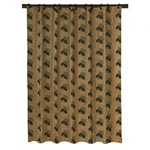Pine Cone shower curtain LG1800SC