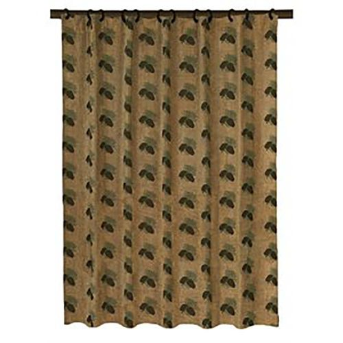 Pine Cone shower curtain LG1800SC
