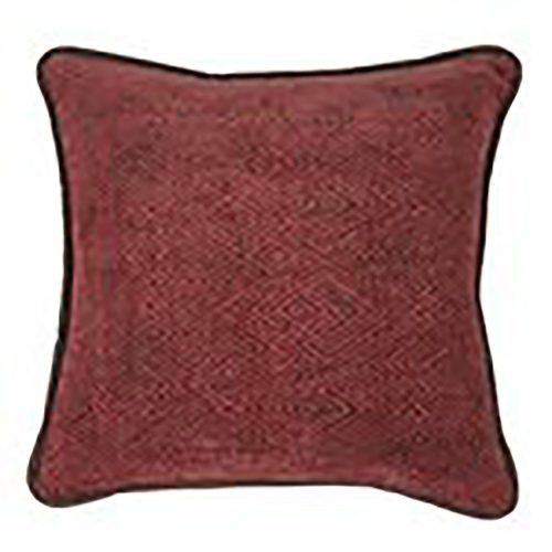 Wilderness Ridge Red Chenille Pillow LG1849P1