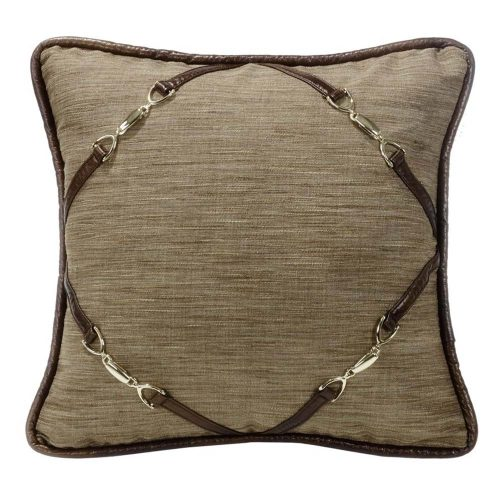 Highland Lodge Buckle Pillow LG1860P3