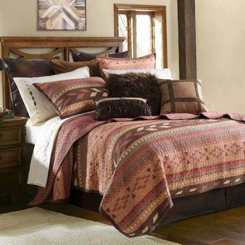 Broken Arrow Bedding QW1009-KG-OC