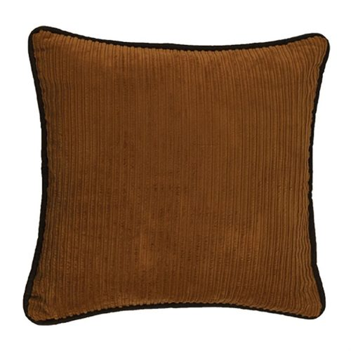 Ocala Corduroy Faux Leather Pillow WS3008P2