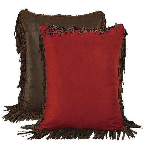 Rodeo Faux Suede Pillow WS4005ES