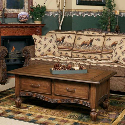 Marshfield Pine Cone Coffee Table 817430