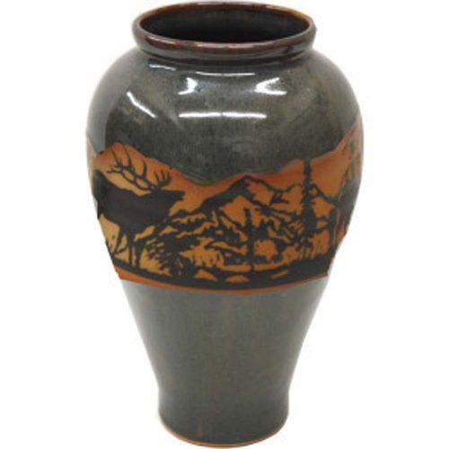 Elkwrap Slender Vase 165Elkwrap