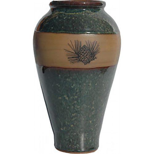 Pinecone Slender Vase 165Pinecone