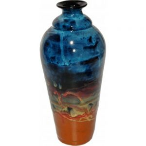 Non-Pattern Glazed Tall Vase 168