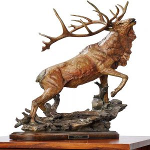 Call to Contest-Elk Sculpture 6567444466