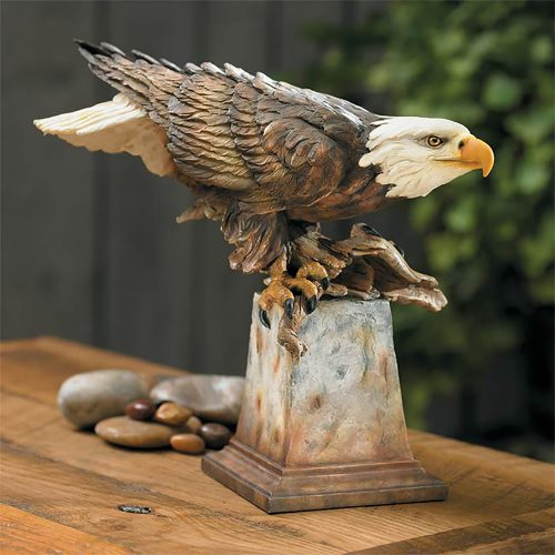 Free Reign - Bald Eagle Sculpture 6567411932